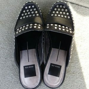 New Dolce Vita Studded Mule Shoes